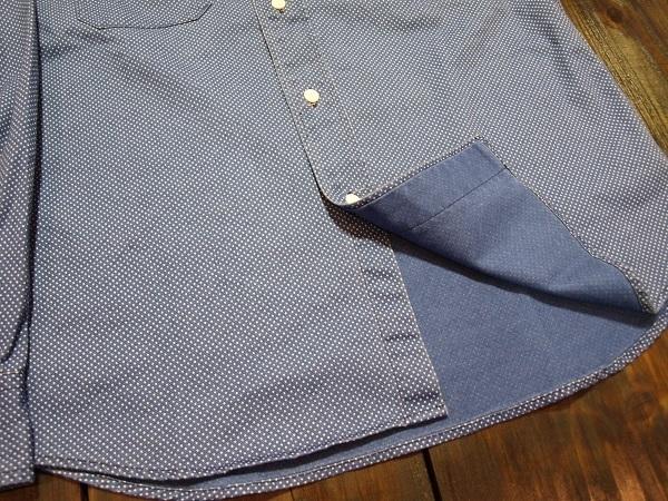 CALEE キャリー スタンドカラーシャツ ドットシャツ (8).JPG