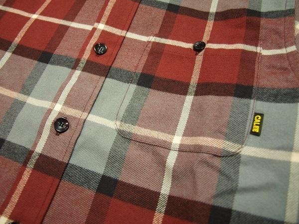 CALEE チェックネルシャツ (2).JPG