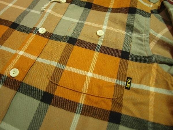 CALEE チェックネルシャツ (3).JPG