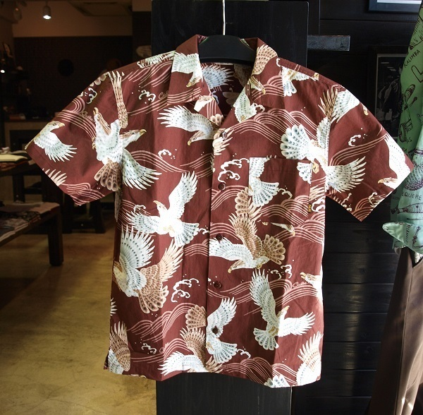CALEE ORIENTAL PATTERN ALLOVER HAWAIIAN SHIRTS2.JPG
