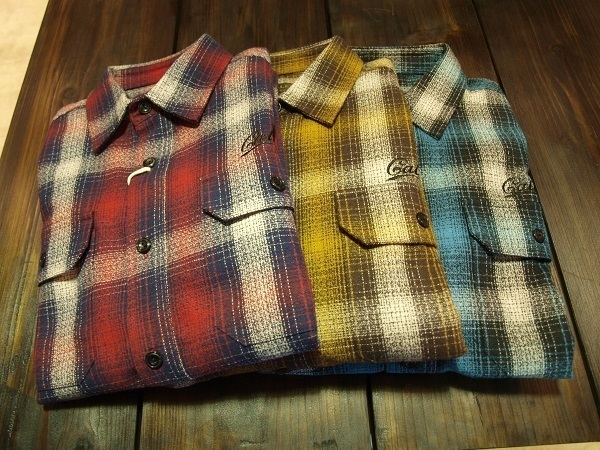 CALEE  チェックシャツLS AMUNZEN CHECK SHRTS.JPG