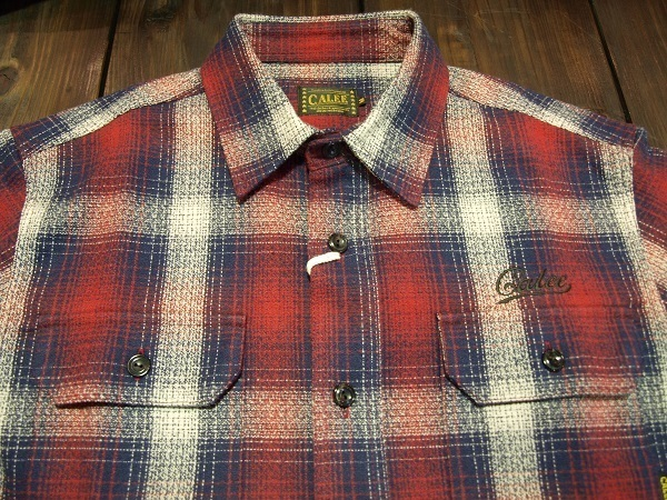 CALEE  チェックシャツLS AMUNZEN CHECK SHRTS (2).JPG