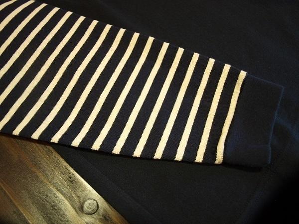 CLUCT クラクト ボーダーカットソー Tシャツ 2016春夏 (7).JPG