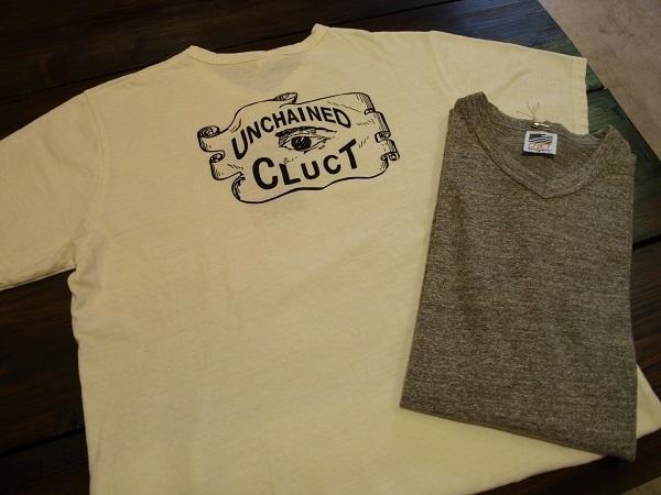CLUCT V-NECK Tシャツ  EYES.JPG