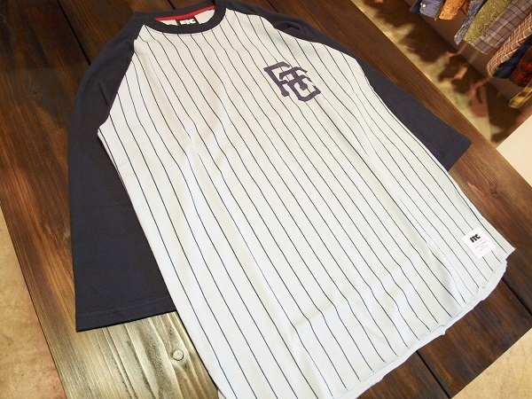 FTC エフティーシー 2016 ベースボールシャツ デニムシャツ (11).JPG