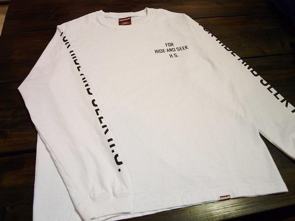 HIDE AND SEEK ハイドアンドシーク ロンTシャツ (3).JPG