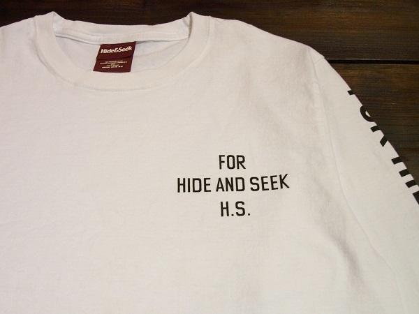 HIDE AND SEEK ハイドアンドシーク ロンTシャツ (4).JPG
