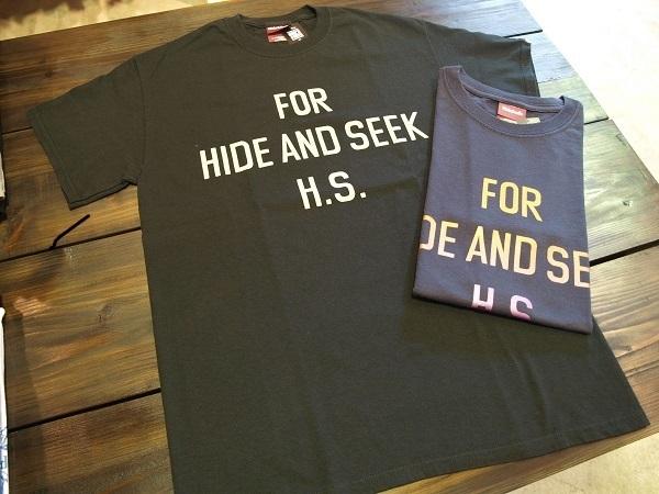 HIDE AND SEEK HS Tシャツ.JPG