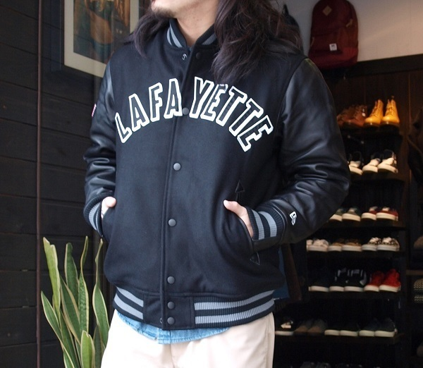 Lafayette×NEW ERA ARCH LOGO STADIUM JACKET.JPG
