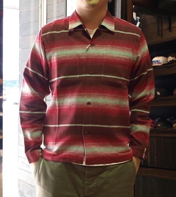 RADIALL ネルシャツ オープンシャツ.JPG