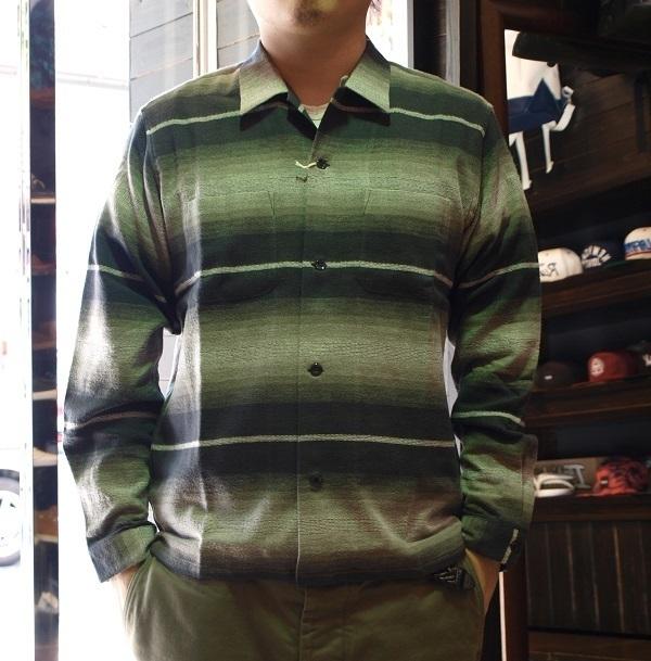 RADIALL ネルシャツ オープンシャツ (2).JPG
