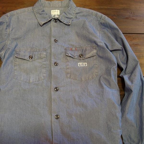 RADIALL ラディアル ワークシャツ2.JPG