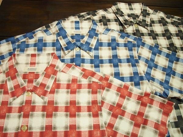 RADIALL 半袖シャツ Tシャツ トラウザーショーツ (1).JPG