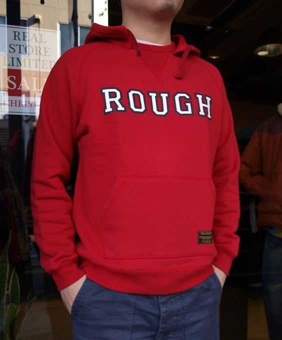 ROUGH AND RUGGED LOGO HOODIE ラフアンドラゲッド.JPG